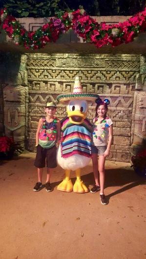 Donald Duck - style de Mexico