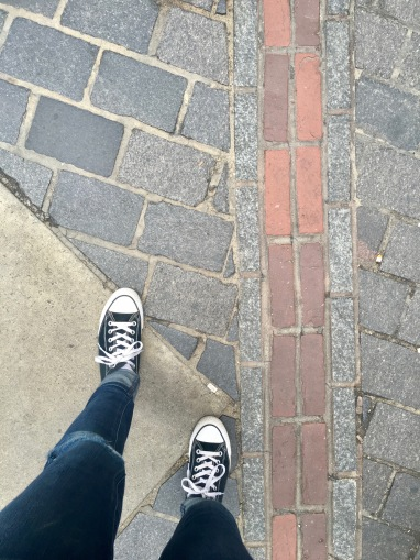 Walking the Freedom Trail in Boston
