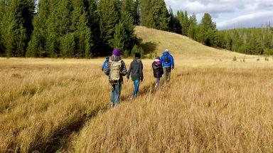 Hiking off the beaten path