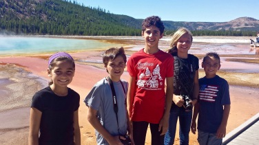 Cousins at Grand Prismatic