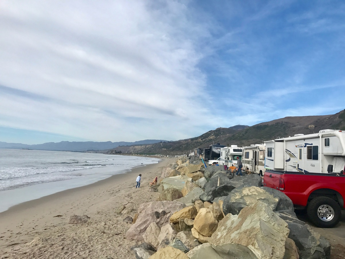 Camping In Ventura Ca Barry Good Times